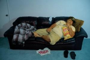 lazy guy