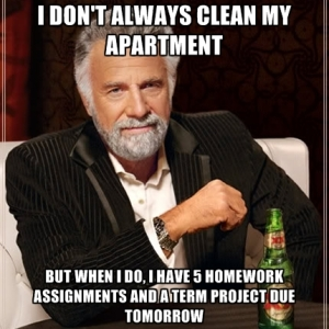 i-dont-always-clean-my-apartment-but-when-i-do-i-have-5-homework