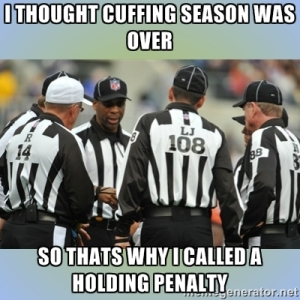 cuffing season over