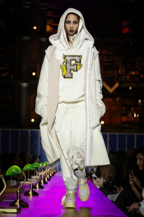 Fenty x Puma Fashion show, Ready to Wear Collection Fall Winter 2017 in Paris